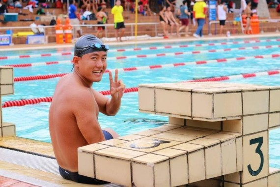Si Hao at the 37th National Life-Saving competition this August