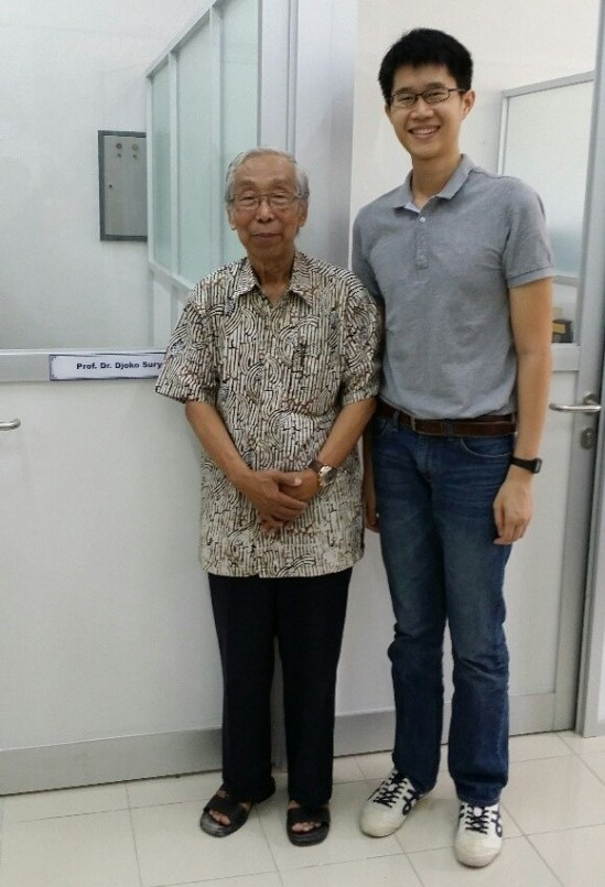 My ISM journey also brought me to an interesting conversation with a prominent Indonesian historian, Dr Djoko Suryo