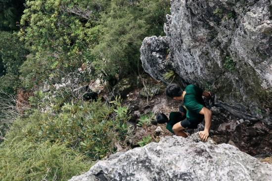 Rock climbing!