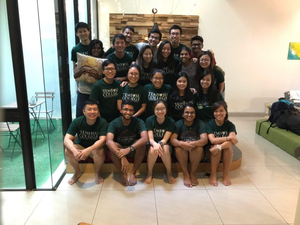 The Residential Team on their annual retreat (Picture Credits: Dr Kelvin Pang)