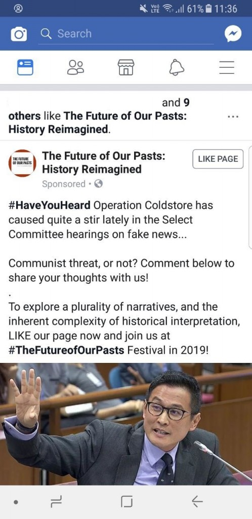 (Names Removed) Future of Our Pasts